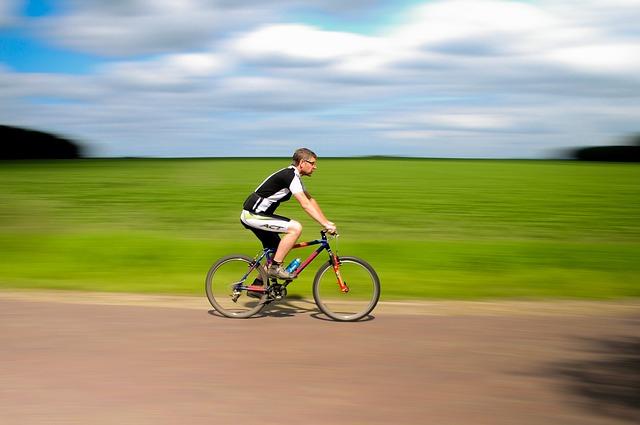 projížďka na kole