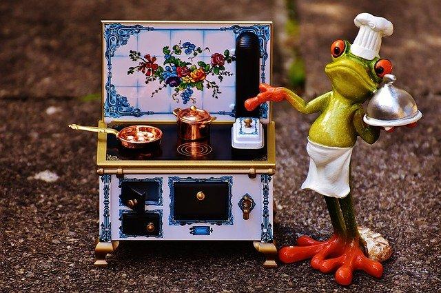 žába šéfkuchař