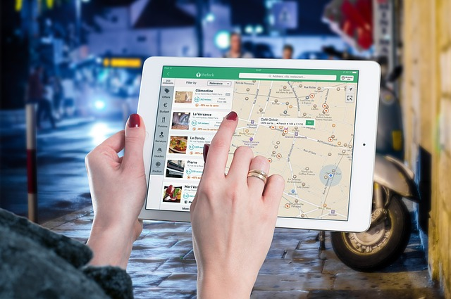 navigace v iPadu