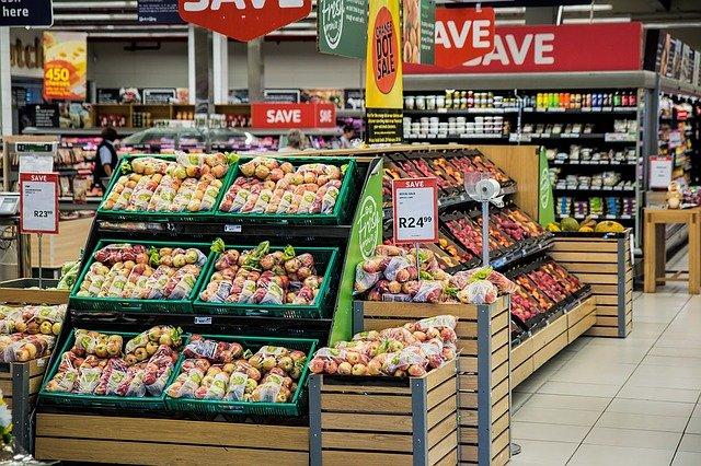 jablka balená v marketu