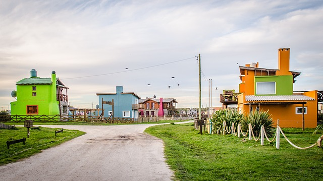 zajímavé domy na venkově