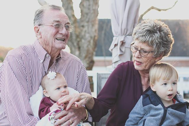 veselý prarodiče