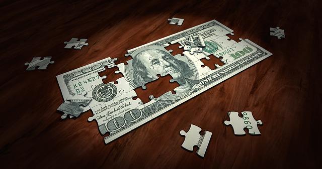 puzzle bankovka