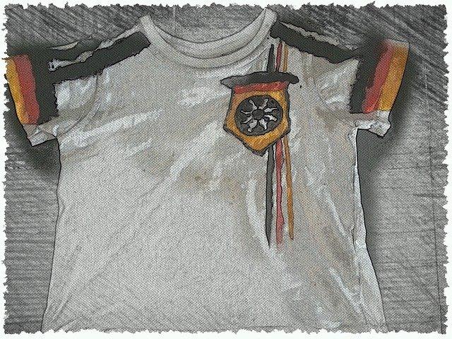 tričko s potiskem kresba