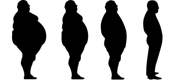 ztráta tělesné hmotnosti u muže
