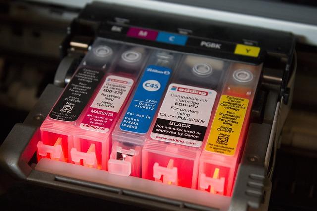 barevné cartridge