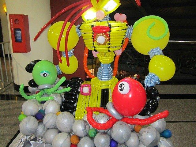 modelování z balónků