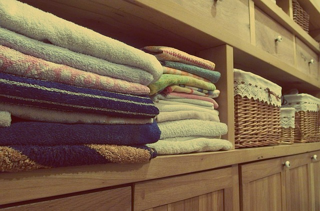 úložný prostor oblečení