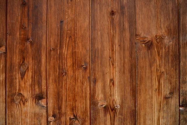 dřevěné desky hnědé
