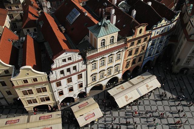 pražské budovy