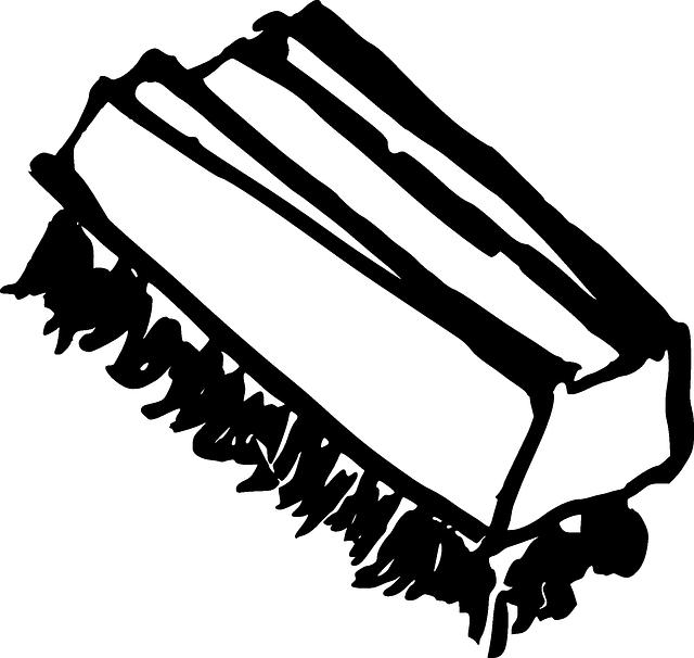 kartáč na podlahu