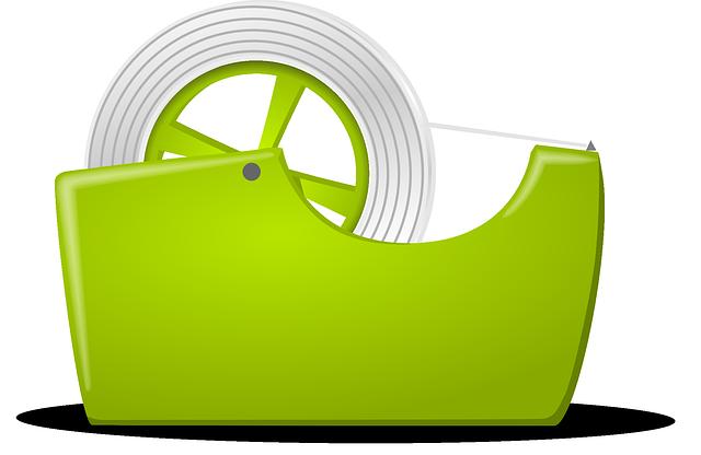 zelená páska