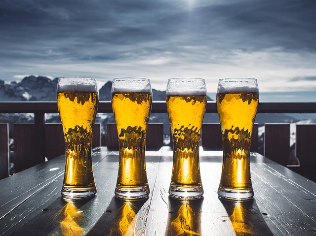 pivo na horách